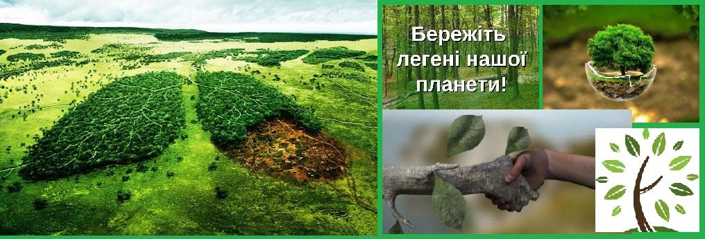 Зелені легені планети